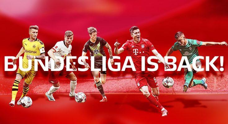 Kết quả bóng đá Bundesliga mùa giải 2019-2020