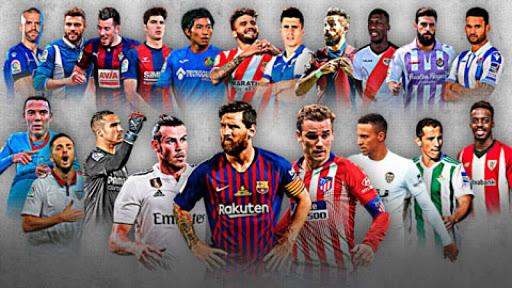 Bảng xếp hạng bóng đá Tây Ban Nha