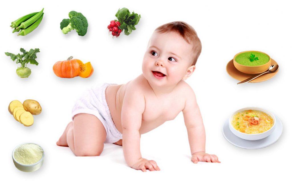 Thức ăn cho trẻ nhỏ